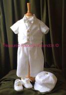 Bespoke White Linen Suit
