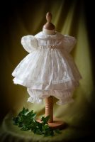 Chloe Bloomer Christening Dress