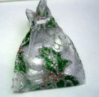 Organza Pouch Christmas Favour