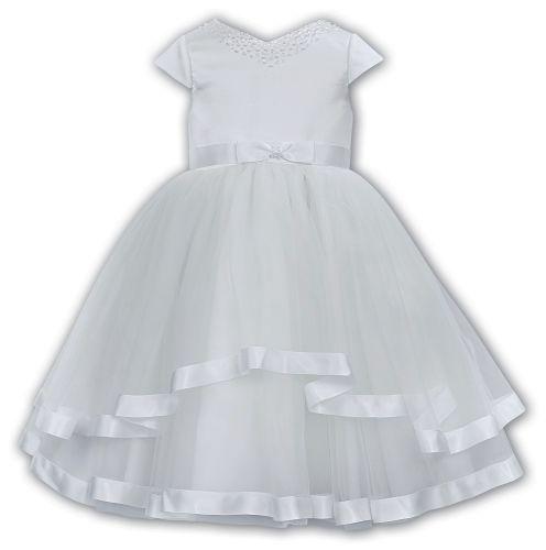 White ceremonial dress