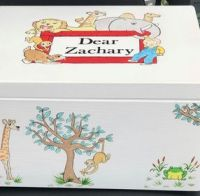 Dear Zoo themed Christening Box