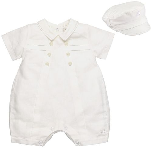 Pierre Traditional Baby Boys Romper