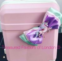 Trolly Suitcase with Large Bow