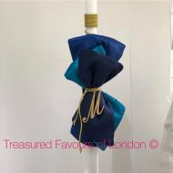 Navy Blue and Gold Lambatha