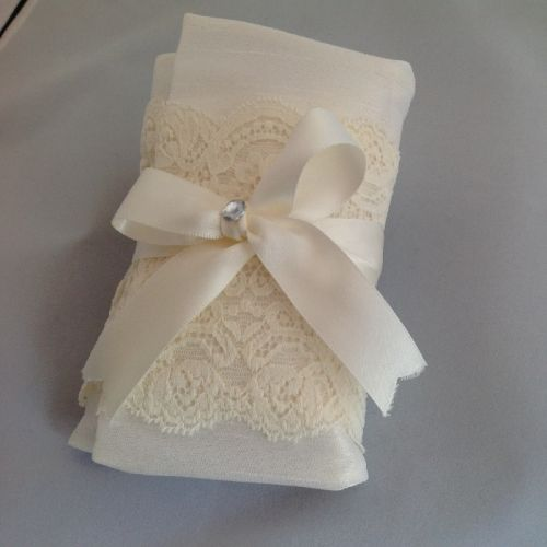 Lace Envelope Pouch Wedding Favour