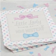 Little Lady or Mini Mister Paper Napkins