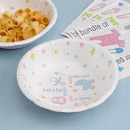 Tiny Feet Paper Bowls