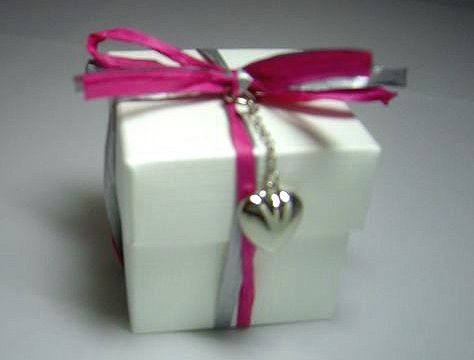 White Box with Heart