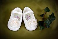 Rosie Ivory Christening Shoe