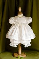Eve Christening Bloomer Set