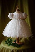 Maria Lace Christening Dress