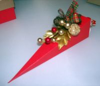 Cone Shape Christmas Favour