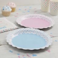 Little Lady or Mini Mister Paper Plates