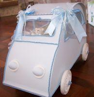Little Car Christening Box