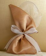 Mink and Bronze Favour Pouch