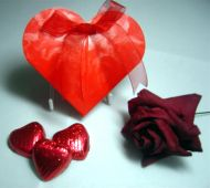 Heart Favour Box