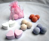 Bath Bomb and Bath Heart Wedding Favour