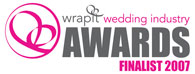 wrapit Wedding Industry Awards Finalist 2007