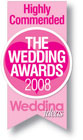 Wedding Ideas Wedding Awards 2008 Highly Commended