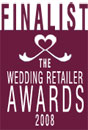 Finalist Wedding Retailer Awards 2008